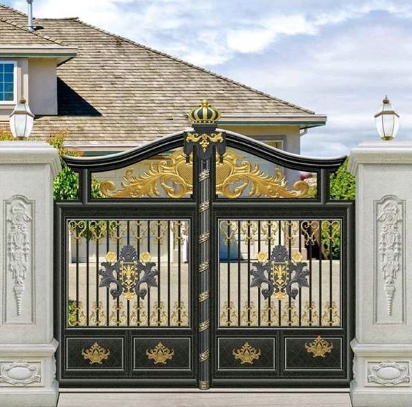 Beautiful Ornamented Gates Of High Quality In Awka Connin Design,Small Home Interior Design Indian Style